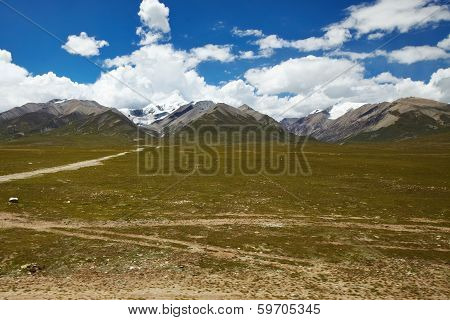 Tibet Mountain Landscape