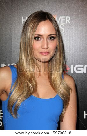 LOS ANGELES - FEB 11:  Naomi Kyle at the