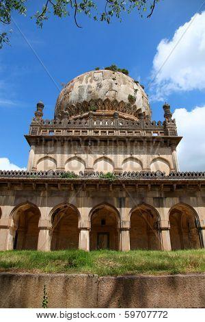 Historic Quli Qutbshahi tomb in Hyderabad, India