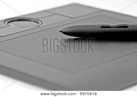 Black Digital Tablet