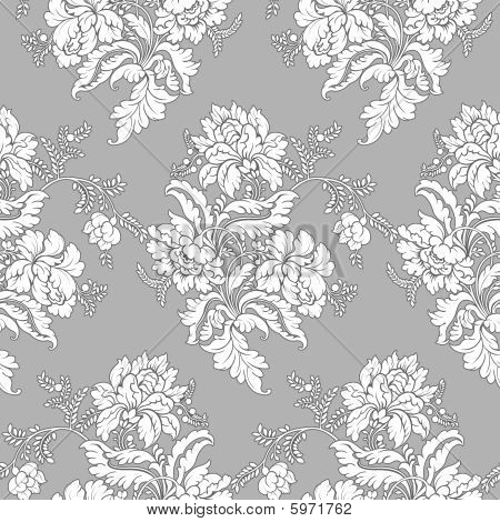 Classic floral pattern - seamless