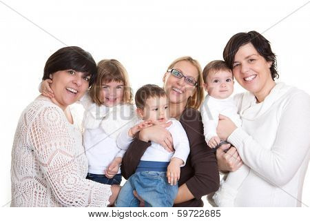 mums and children or baby group