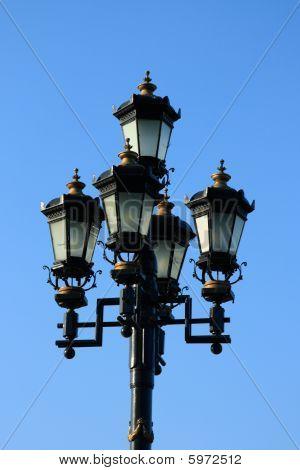 Retro-styled Street Lamp