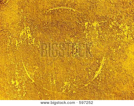 Abstract Gold  Ground Texture