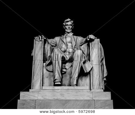 Statue Of Abraham Lincoln In Washington Dc