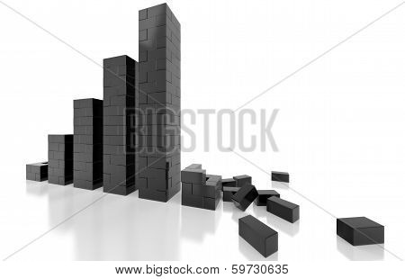 Graphite Dark Brick Graph