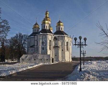 Catherine's church in Chernigov
