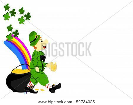 Leprechaun Walk Beer Pot Gold