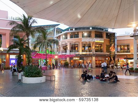 Phuket, Thailand - April 26: Jungceylon Shopping Mall In Patong Beach On April 26, 2012 In Phuket, T