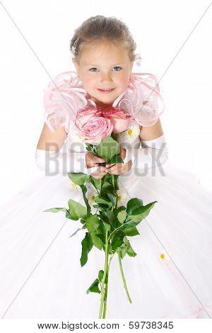 adorable young girl
