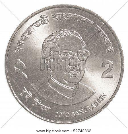 Two Bangladeshi Taka Coin