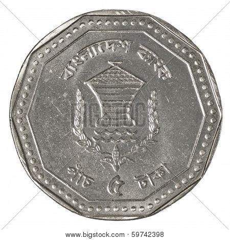 Five Bangladeshi Taka Coin