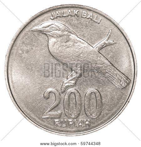 200 Indonesian Rupiah Coin