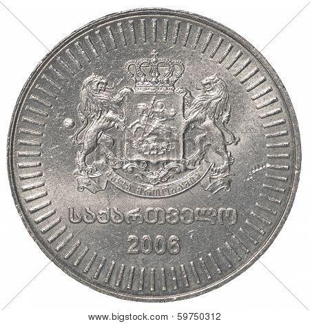 50 Georgian Tetri Coin