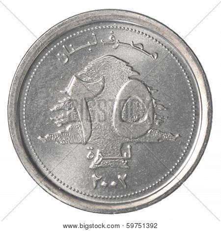 25 Lebanese Pound Coin