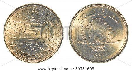 250 Lebanese Pound Coin