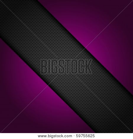 Mesh Background With Purple Corners