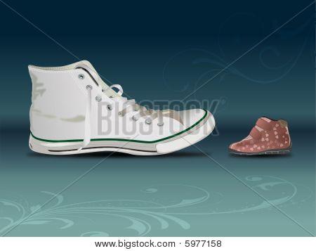 Sneaker Vs Shoe