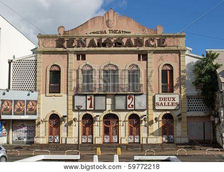 Cinema, Pointe-a-pitre, Guadeloupe, Caribbean