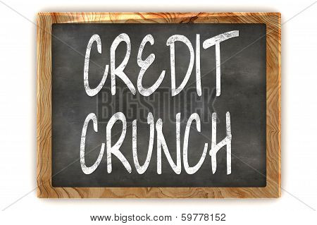 Blackboard Credit Crunch