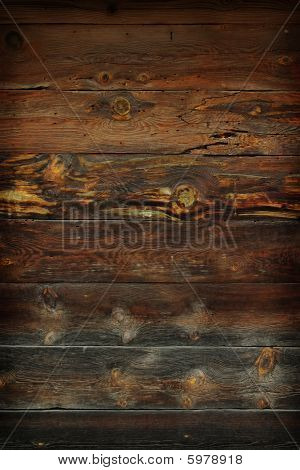 Grunge Old Wooden Planks Background