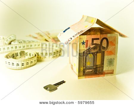 50 euros house