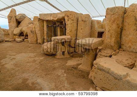 Hagar Qim Temple Remains