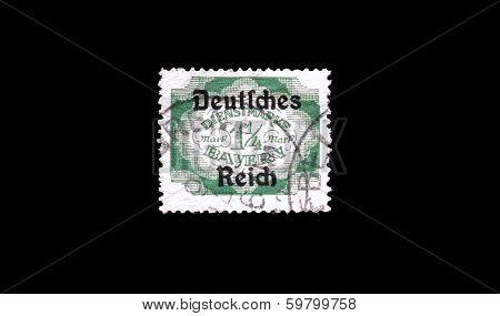 Deutsche reich stamp