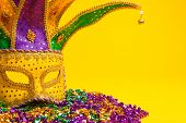 stock photo of carnivale  - A festive - JPG