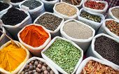 Постер, плакат: Indian Colorful Spices