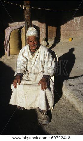 Elderly Ladakhi Man