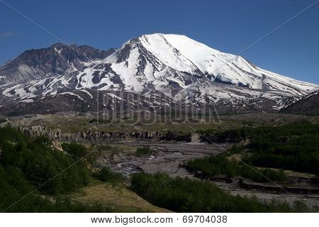 Mount St. Helens crater, Washington state