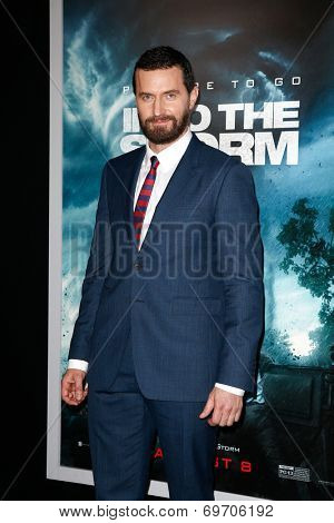 NEW YORK-AUG 4: Actor Richard Armitage attends the