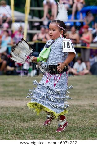 Young Powwow  Jingle Dress Dancer
