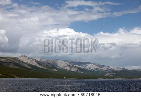 Lake Khovsgol, northern Mongolia