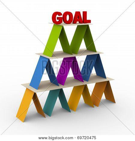 3D Goal Pyramid
