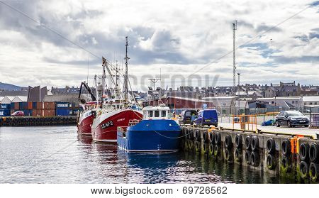 Lerwick, uk, harbor3