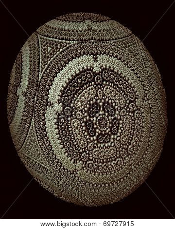 Decorative Fractal Egg