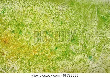 Green And Yellowish Texture