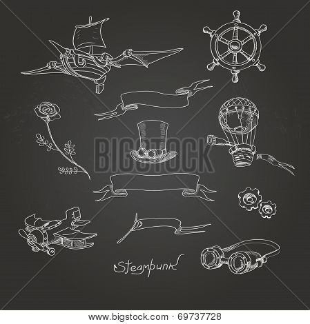 Steampunk Chalk Board?