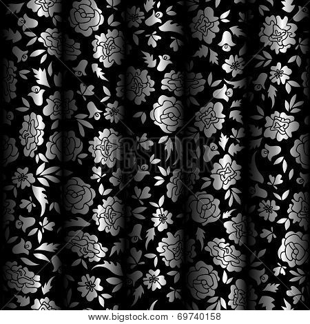 Curtain Illusion Seamless Pattern