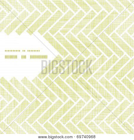 Abstract textile parquet frame corner pattern background