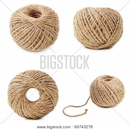 Coil Of Thick Threads