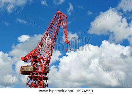 Vintage crane