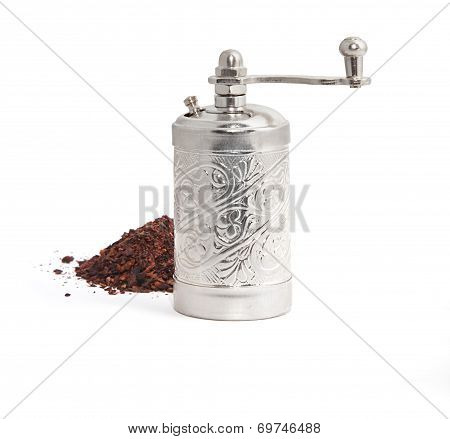 Spice Mill And Pepper