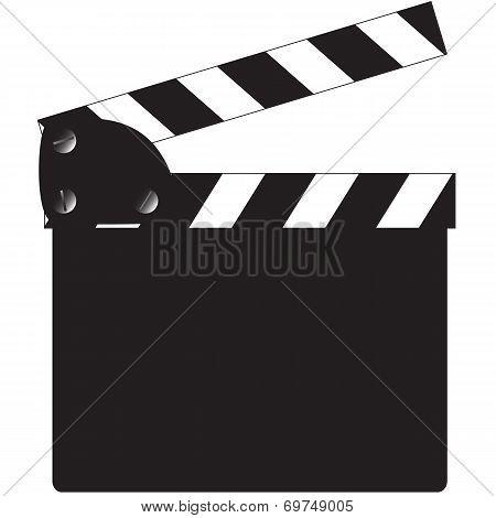Blank Clapper Board