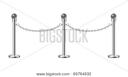 Stand chain barriers