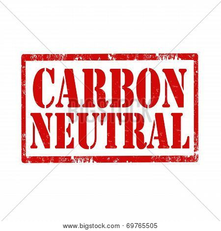 Carbon Neutral-stamp