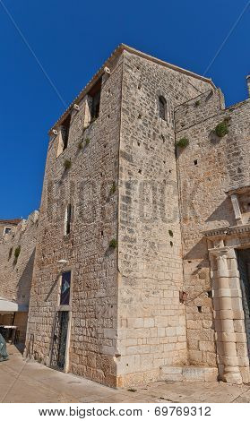 St Nicholas Tower (xv C.). Trogir, Croatia. Unesco Site