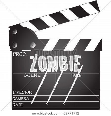 Zombie Clapper Board
